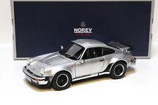 1:18 NOREV porsche 911 turbo 3.3 silver 1977 New chez premium-MODELCARS