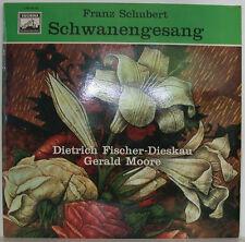 """FRANZ SCHUBERT CANCIÓN DE CISNE DIETRICH FISCHER-DIESKAU GERALD MOORE 12"""" LP"""