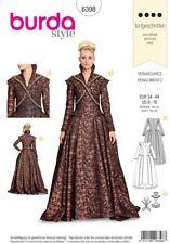 Burda Style Costume SEWING PATTERN 6398 Misses Renaissance Dress 8-18