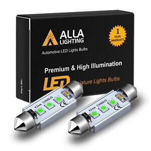 Alla Lighting LED Light Blue Sky Blue 211-2 Trunk Luggage Cargo Area Light Bulb