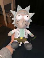 Rare Unique Rick And Morty Stuffed Plush Doll