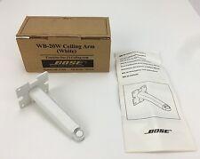 Bose Ceiling Arm - WB-20W - OEM - White - NEW