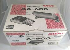 Sanyo 6 Disc In- Car Cd Changer Ax-600 New In Box Rare Vintage 90'S