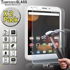 2 Pack Tempered Glass Screen Protector for Argos Bush Spira B2 7 Inch FHD Tablet