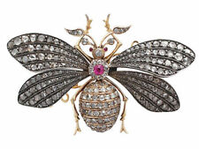 Unbranded Diamond Fashion Brooches