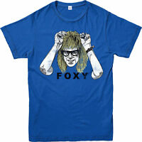 Wayne's World T-Shirt, Foxy Birthday Gift Festive Unisex Adult & Kids Tee Top