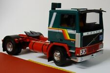 Volvo F12 Tractor Truck Green White 1:18 - Road Kings RK180032