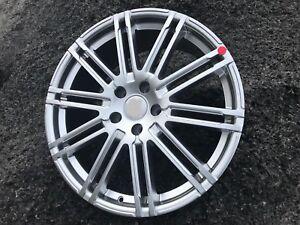 "20"" Alloy Wheels Tyres 5x120 T5 5x120 2553520 T6 Transporter HYPER SILVER DUO"