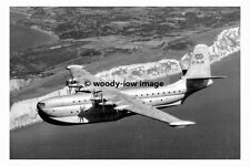 rp17084 - Princess Flying Boat over High Down , Isle of Wight - photo 6x4