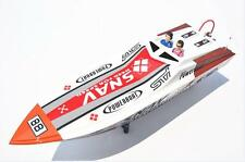 Bare Hull DT G26A2 Challenger 26CC Engine Gas RC Racing Boat Fiber Glass KIT