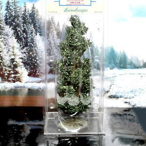 "LEMAX Village Landscape Hemlock Tree Miniatures Train Models Scenery 9"" Tall NOS"