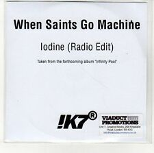 (EN566) When Saints Go Machine, lodine - DJ CD