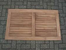 More details for new rectangular solid teak outdoor table top