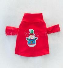 Happy Snowman Dog Turtleneck Shirt Pet Clothing Clothes PC Dog®