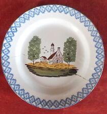 piatto ceramica 19 ° chiesa San Clemente ?