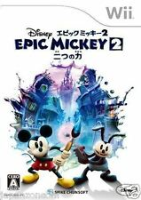 Used Wii Disney Epic Mickey 2 NINTENDO JAPAN JP JAPANESE JAPONAIS IMPORT