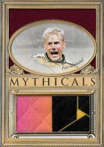 2020 FUTERA UNIQUE SOCCER Peter Schmeichel Denmark Man Utd Mythicals SP Patch /7