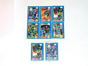 1991 MARVEL NATIONAL SAFE KIDS CAMPAIGN PROMO 6 CARD OPEN SET + SEALED SET!