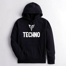TECHNO HOODIE - Heavyweight Premium, EDM, Dance Music, Techno