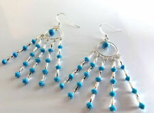 Unbranded Round Crystal Chandelier Costume Earrings