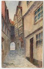 GLOUCESTER - Old Judges House - Westgate St - by J Ruddock - c1900s era postcard