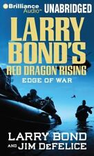 RED DRAGON RISING: EDGE OF WAR unabridged audio book on CD by LARRY BOND