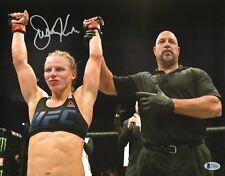Justine Kish Signed 11x14 Photo BAS Beckett COA UFC Fight Night 102 Autograph 3