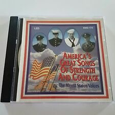 Merrill Staton Voices Americas Great Songs Of Strength And Courage CD Epic 2000