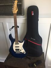 Cort Electric Guitar G210 Blue Beautiful Condition!! Gator Pop N Play Case