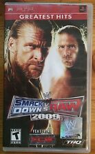 Smack Down Vs. Raw 2009 (PSP Greatest Hits, 2008)