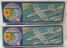 AVIATION : CANBERRA PLASTIC MODEL KIT MADE BY KADER. NO. 394 IN THE SERIES