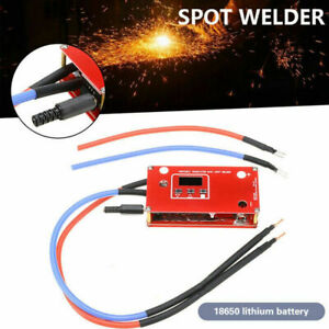 12V Punktschweißgerät Lötstift für Batterie Spot Punktschweißer Maschine DIY DE