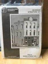 "Woodland Scenics  HO  scale ""Bank & Trust #GV12"