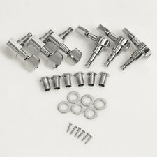 Chrome Guitar Tuning Pegs Tuners Machine Head 3 Left 3 Right