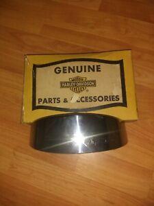 Vintage Harley Davidson Head Lamp Shield # 67900-54 Original Box with Flaws