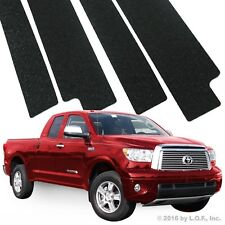 07-13 Toyota Tundra Double Cab 4pc Door Sill Step Protector Threshold Shield Pad
