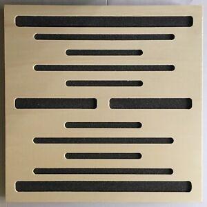 Normal Design pannello acustico fonoassorbente diffondente acoustic wood natural