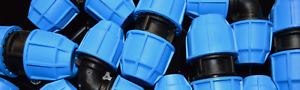 MDPE Plastic Fitting 20mm/25mm/32mm Water Pipe WRAS Approved