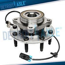 4wd Front Wheel Hub Amp Bearing For Chevy Silverado Gmc Sierra 1500 2500 Hd 3500