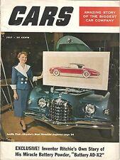1953 CARS #4 July Hot Rod DODGE plant The GM Story Rolls Royce TURBINE JET CAR