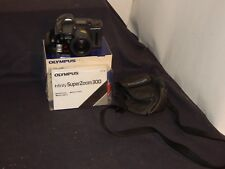 VINTAGE OLYMPUS INFINITY SUPER ZOOM 300 35 mm FILM CAMERA PHOTOGRAPHY
