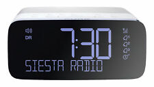 Pure Siesta Rise S DAB/FM Radio Alarm Clock - Polar (152146)