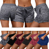 Clearance Sale ! Women Activewear Running Lounge Shorts Yoga Pants With Pockets
