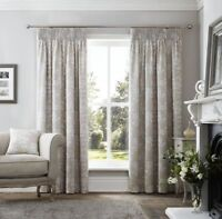 "Curtina curtains Headingham Pencil Pleat 6"" header in Natural, Size: 66x54"""