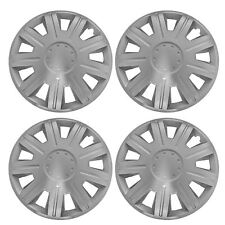 "4 x NEX Wheel Trims Hub Caps 15"" Covers fits Toyota Avensis Aygo Yaris"