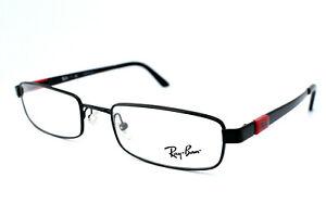 Ray-Ban Eyeglasses RB 6076 2509 Full Frame Black Men Women 51[]19 135 #2507