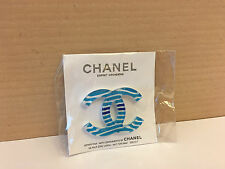 CHANEL CC LOGO PIN BROOCH MAGNETIC **RARE NEW Collectors Items