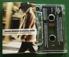 Jason Downs ft Milk Cat's in The Cradle Revenue Mix Cassette Tape Single TESTED
