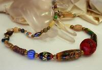 Super Neat Vintage 1950's Beaded Necklace WOW                               965m