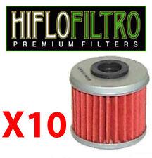 Lot de 10 Filtres a huile QUAD SUZUKI 400 LTZ  LTR NEUF
